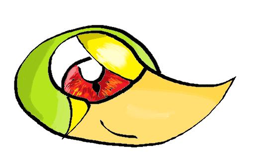 Pokémon-Zeichnung: Serpifeukopf