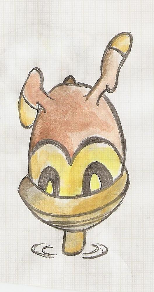 Pokémon-Zeichnung: samurzel Tanz ;D