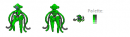 NewColored Deoxys Sprite Collection