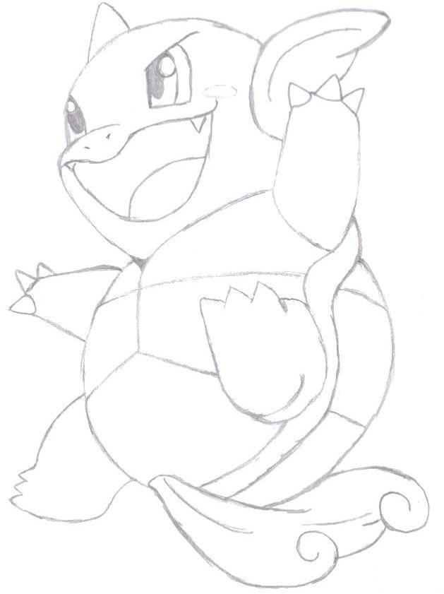 Pokémon-Zeichnung: Schillok