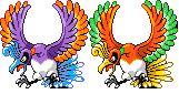 Pokémon-Sprite: Ho-oh