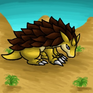 Pokémon-Zeichnung: Sandamer