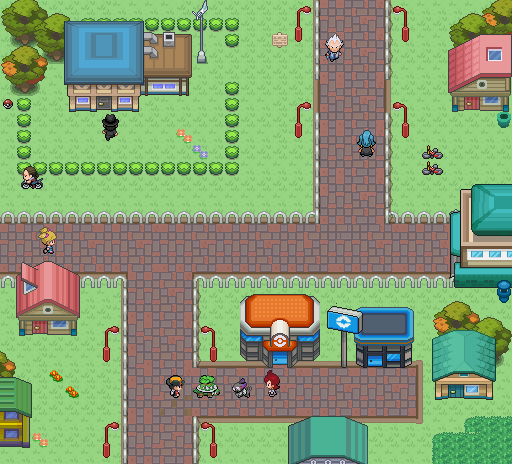 Pokémon-Map: First Map of c3!