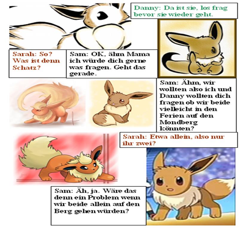 Pokémon-Fanart: Evolution (10)