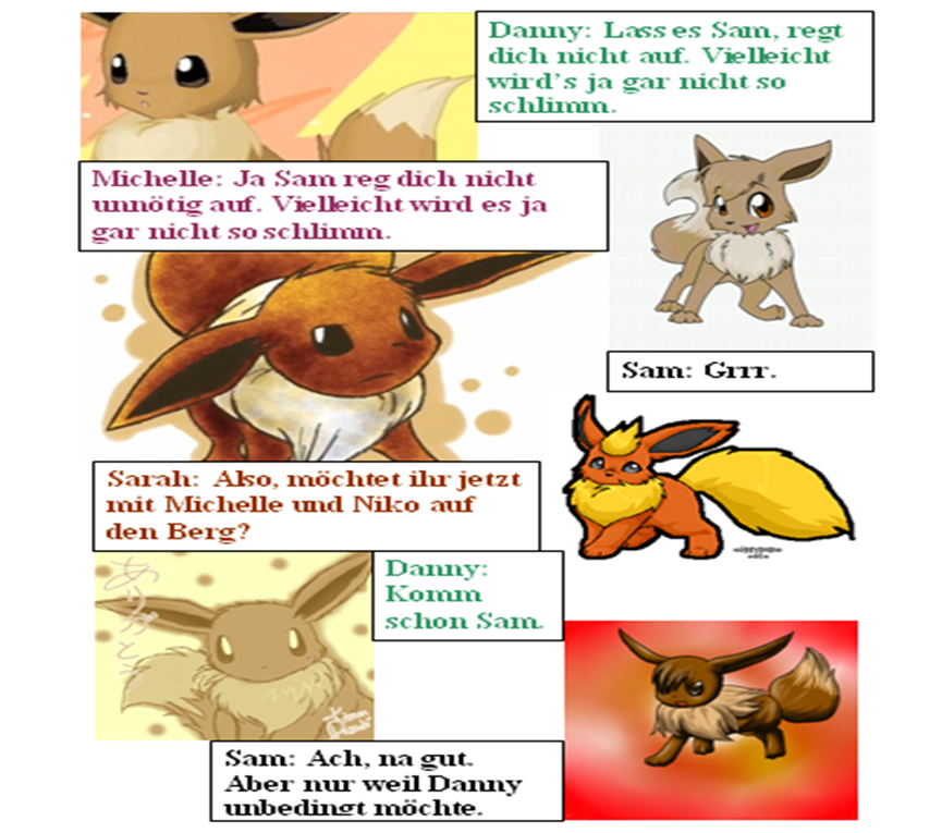 Pokémon-Fanart: Evolution (13)