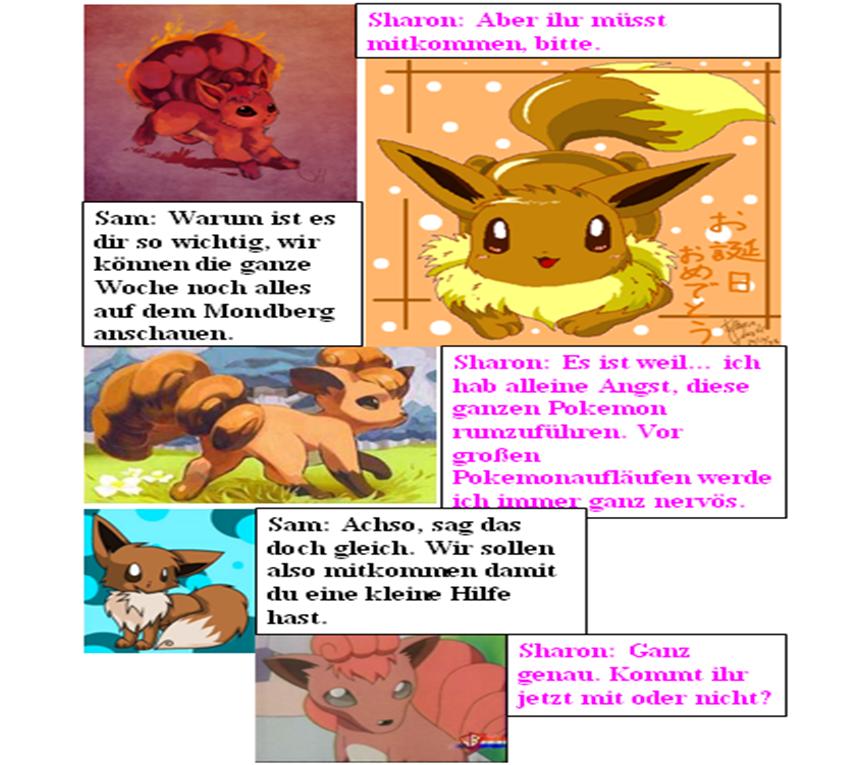 Pokémon-Fanart: Evolution (29)