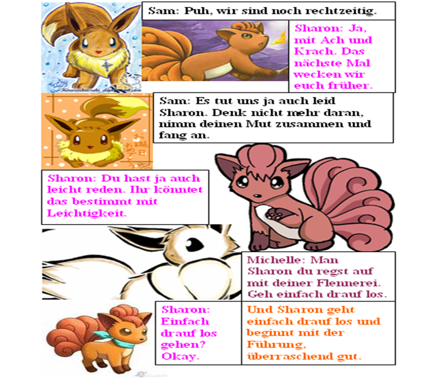 Pokémon-Fanart: Evolution (33)