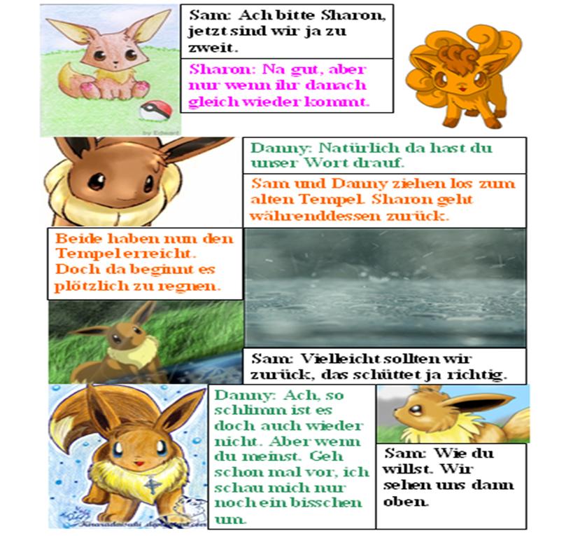 Pokémon-Fanart: Evolution (38)