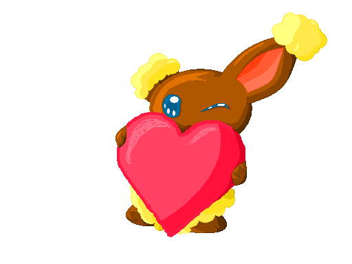 Pokémon-Zeichnung: Happy valentinsday