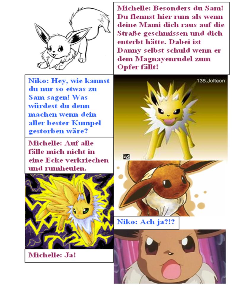 Pokémon-Fanart: Evolution (65)
