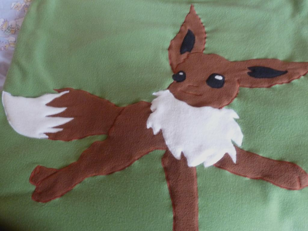 Pokémon-Fanart: Evolibezug