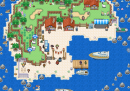 süße kleine Insel