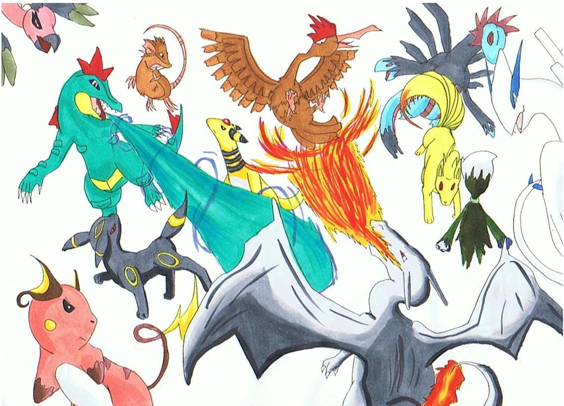 Pokémon-Zeichnung: Einreichung 22089