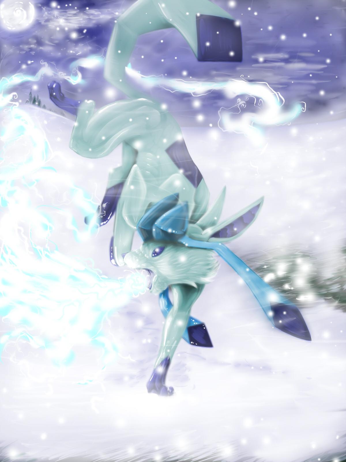 Pokémon-Zeichnung: glazioola :)