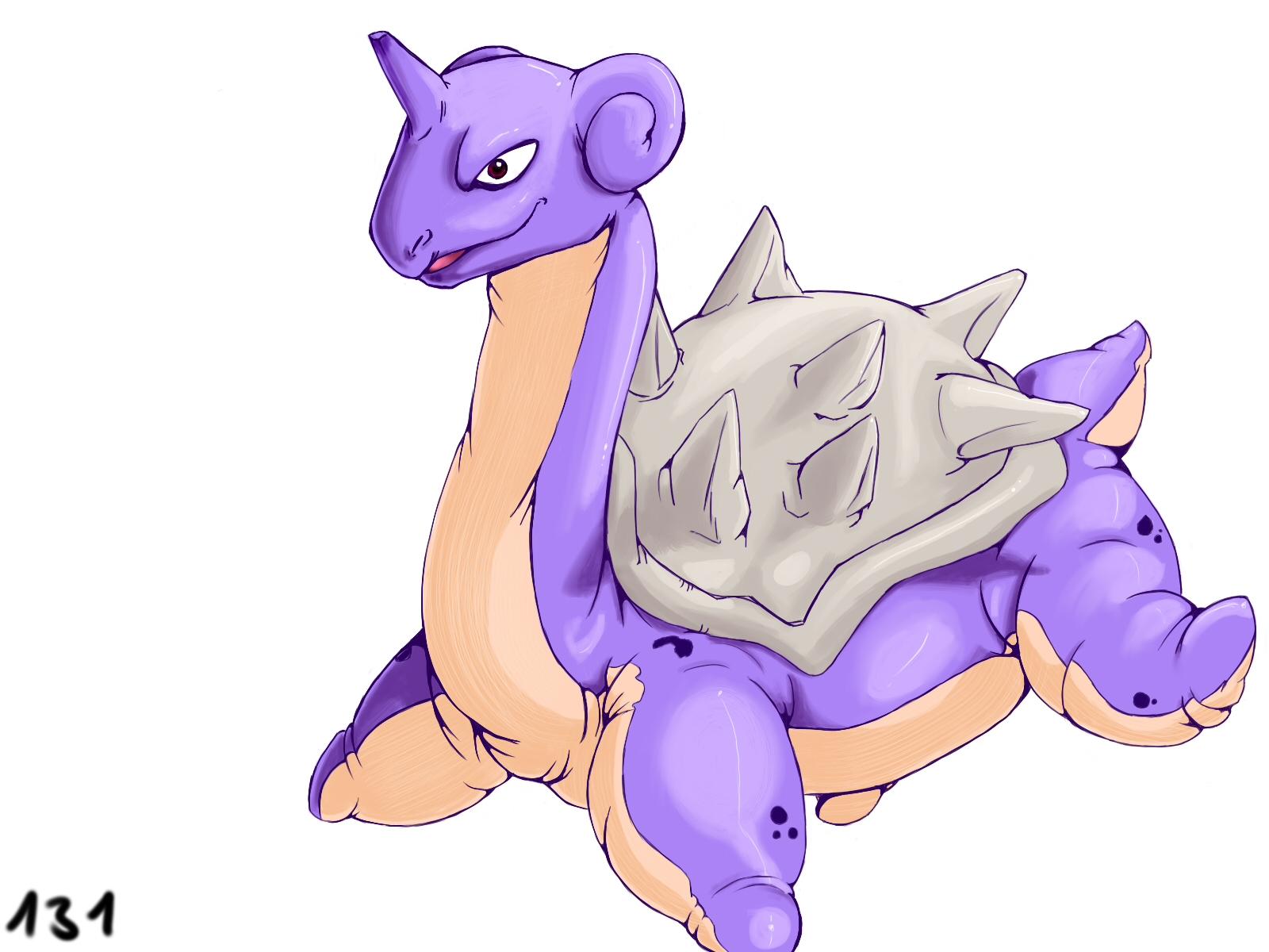 Pokémon-Zeichnung: 131 shiny