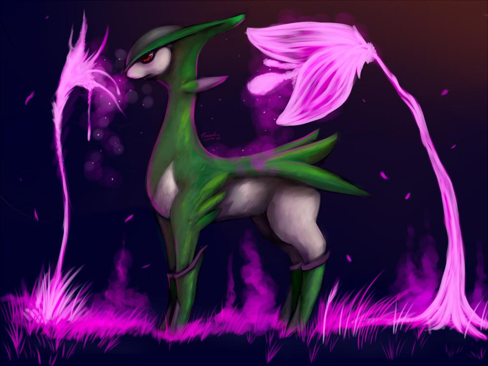Pokémon-Zeichnung: viridium