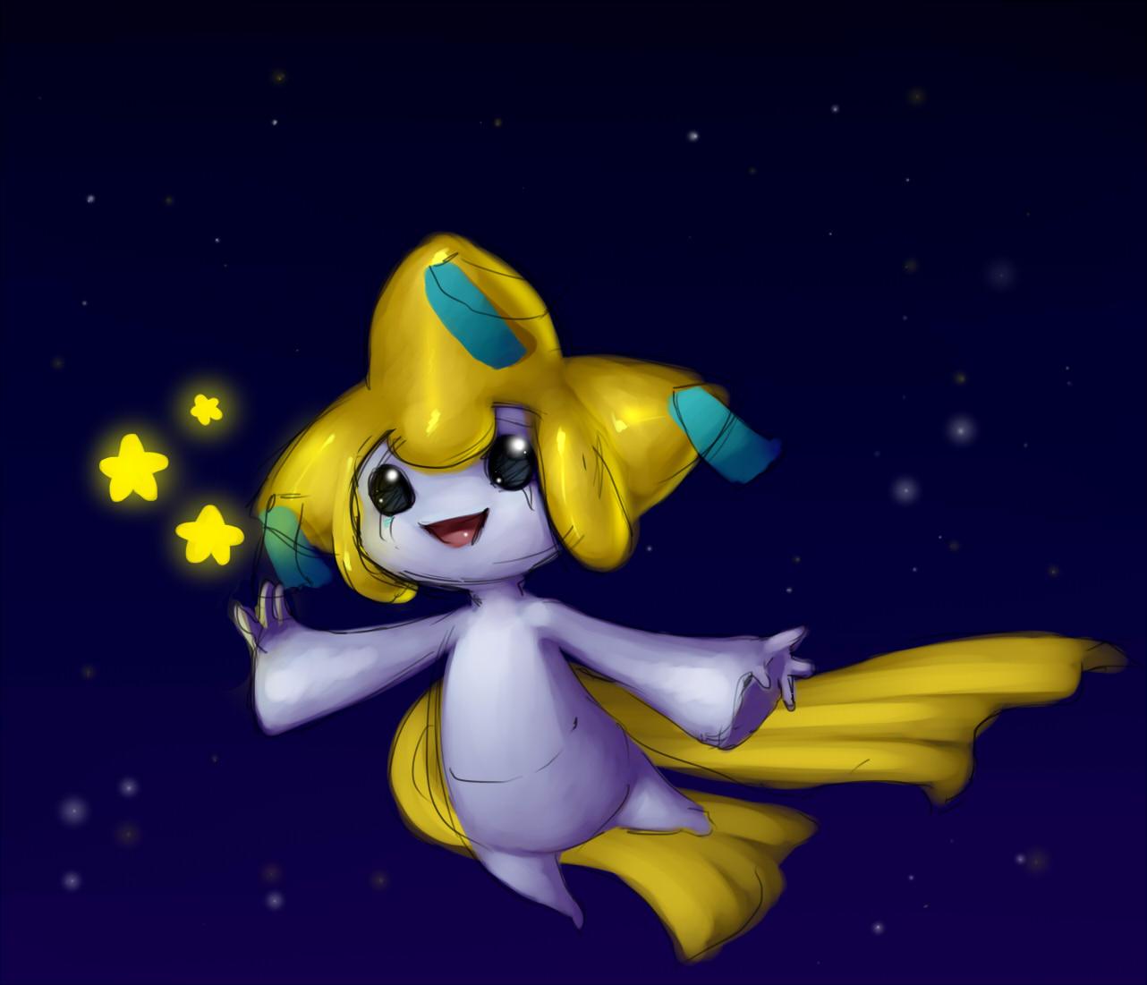 Pokémon-Zeichnung: jirachi oder so