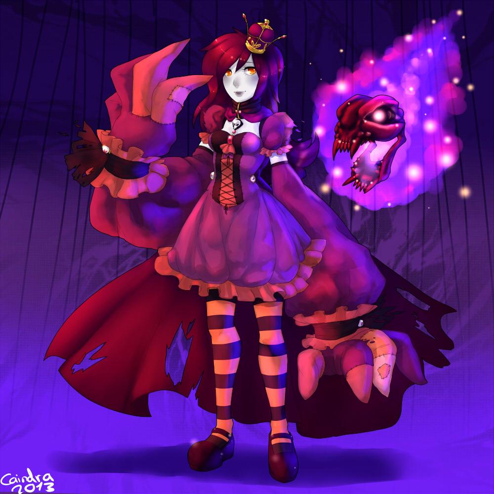 Pokémon-Zeichnung: ghost queen Clavie