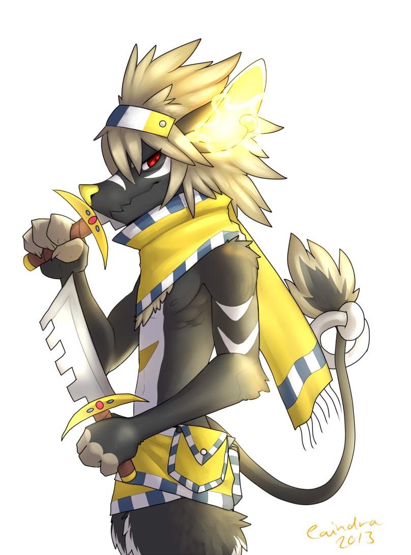 Pokémon-Zeichnung:  Anubis