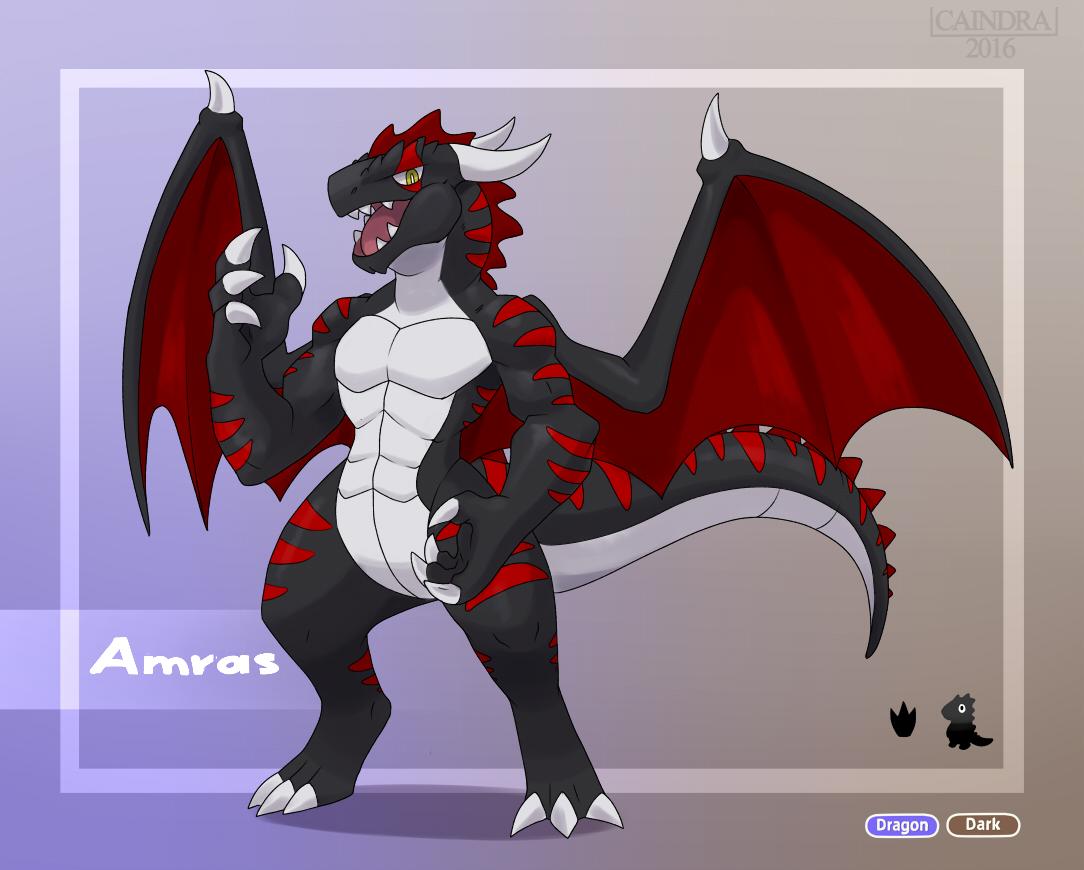 Pokémon-Zeichnung: Amras