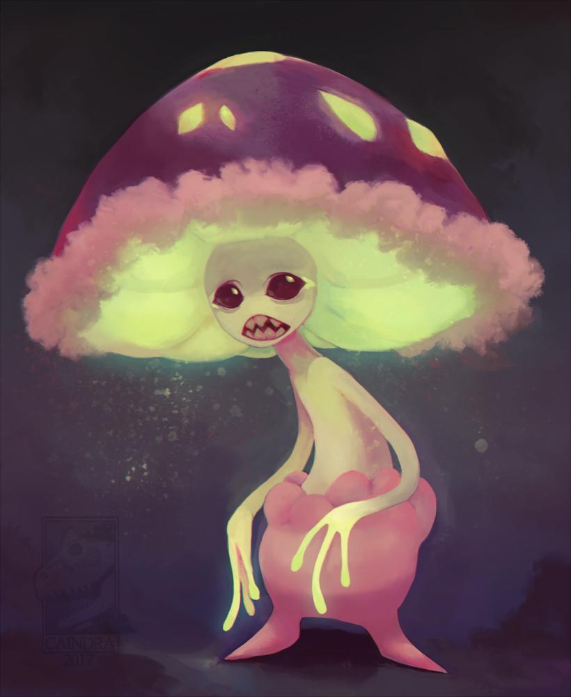 Pokémon-Zeichnung: AyyLmao shroom