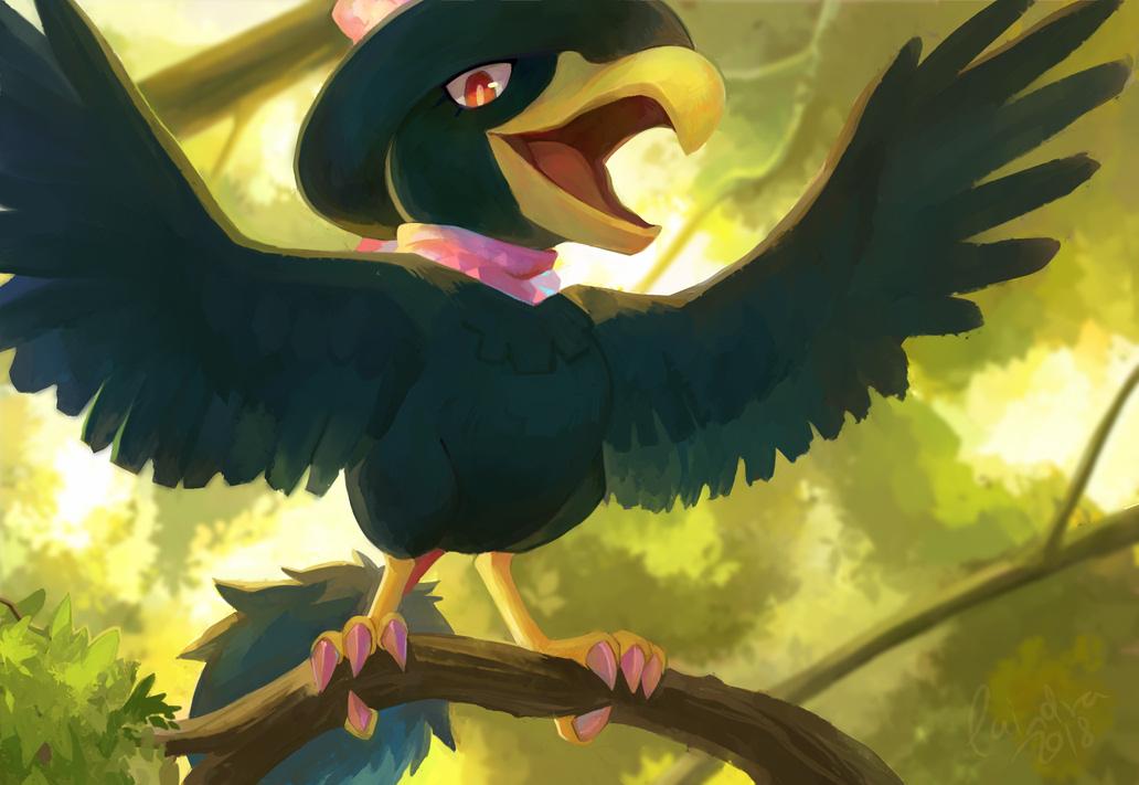 Pokémon-Zeichnung: Lilli