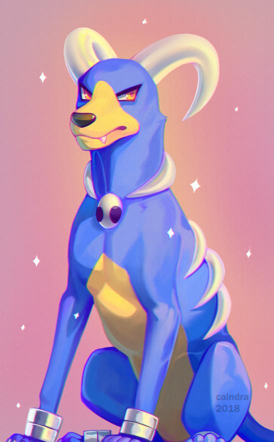 Pokémon-Zeichnung: Domera