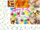 HAPPY B-DAY AYUMI