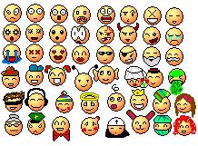 Pokémon-Pixelart: smilie