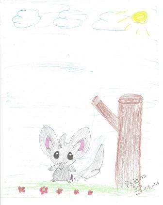 Pokémon-Zeichnung: Picochilla