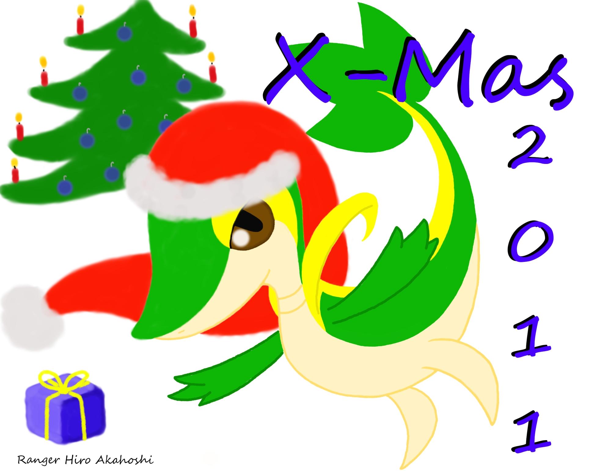 Pokémon-Zeichnung: X-Mas 2011