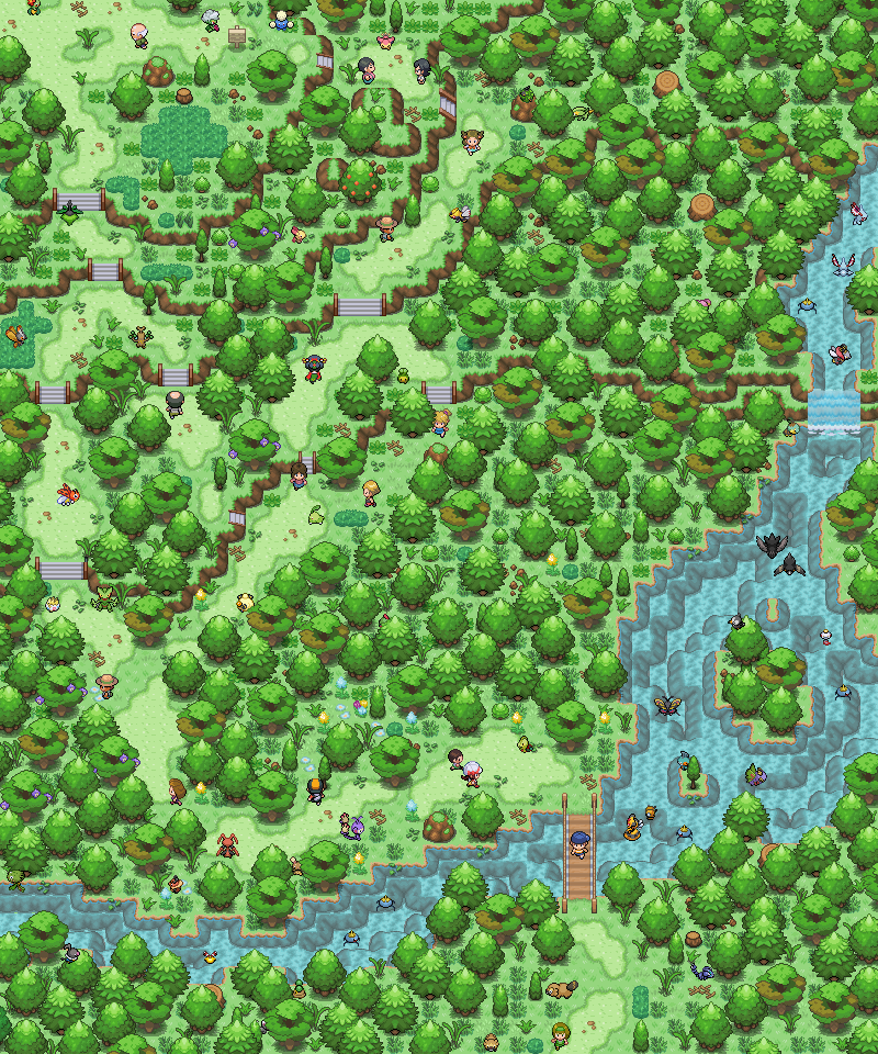 Pokémon-Map: Green Day