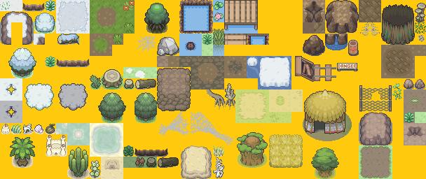 Pokémon-Tileset: Kyledove - Biome