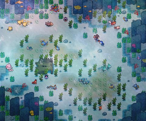Pokémon-Map: Eine Seefahrt, die ist lustig, eine Seefahrt, die ist schön ...