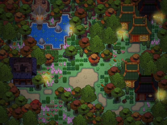 Pokémon-Map: Und in diesem kleinen, schläfrigen Dorf ...