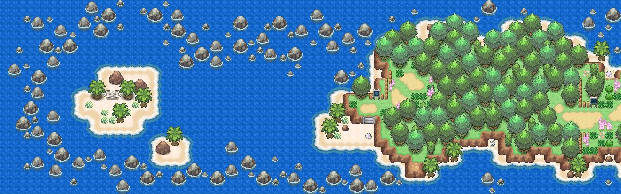 Pokémon-Map: Grüner Pfad Remake