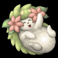 Pokémon-Pixelart: Ein Shaymin