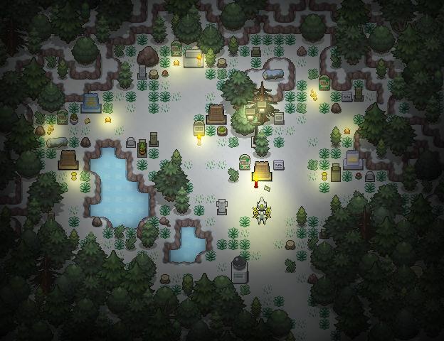 Pokémon-Map: Erinnerungen