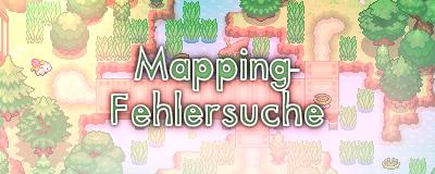 Pokémon-Fanart: Mapping-Fehlersuche