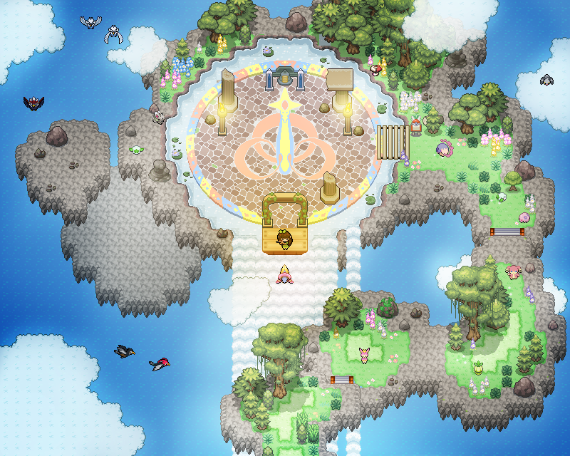 Pokémon-Map: Floating