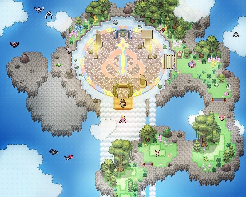 Pokémon-Map: Floating
