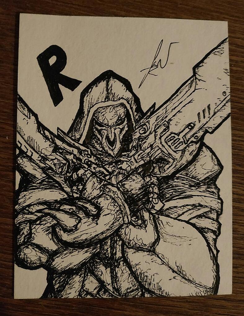 Pokémon-Zeichnung: Reaper Sketch