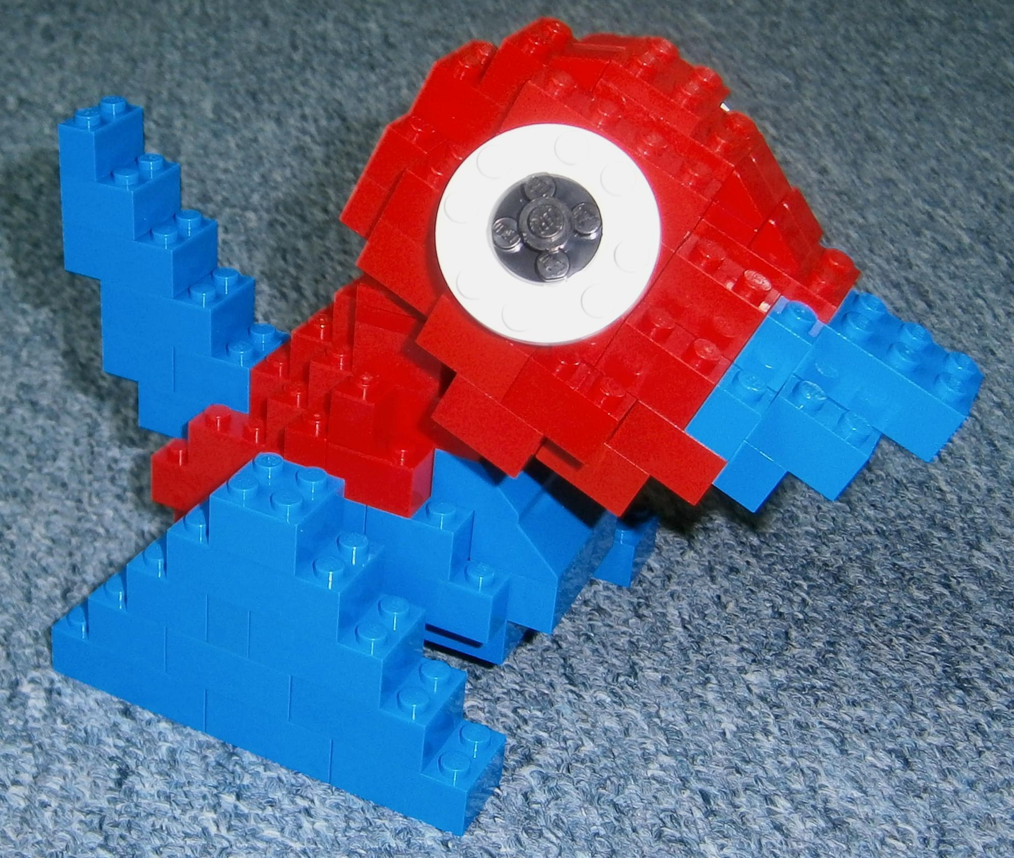 Pokémon-Fanart: LEGO Porygon