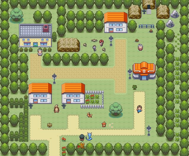 Pokémon-Map: First Map...