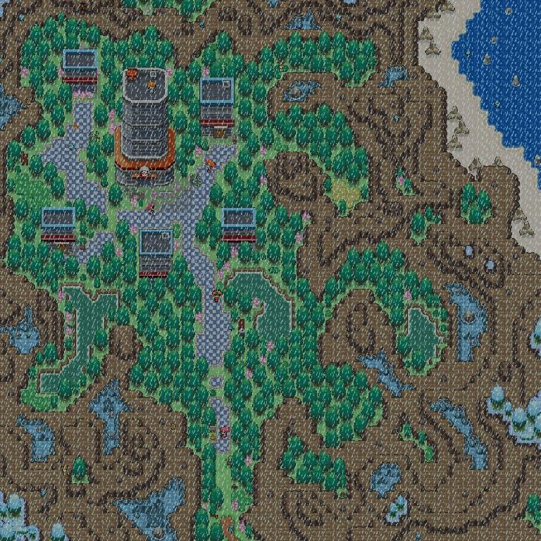 """Pokémon-Map: """"Sommerregen"""""""