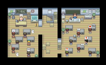 Pokémon-Map: Schule <- KreatiVster Titel