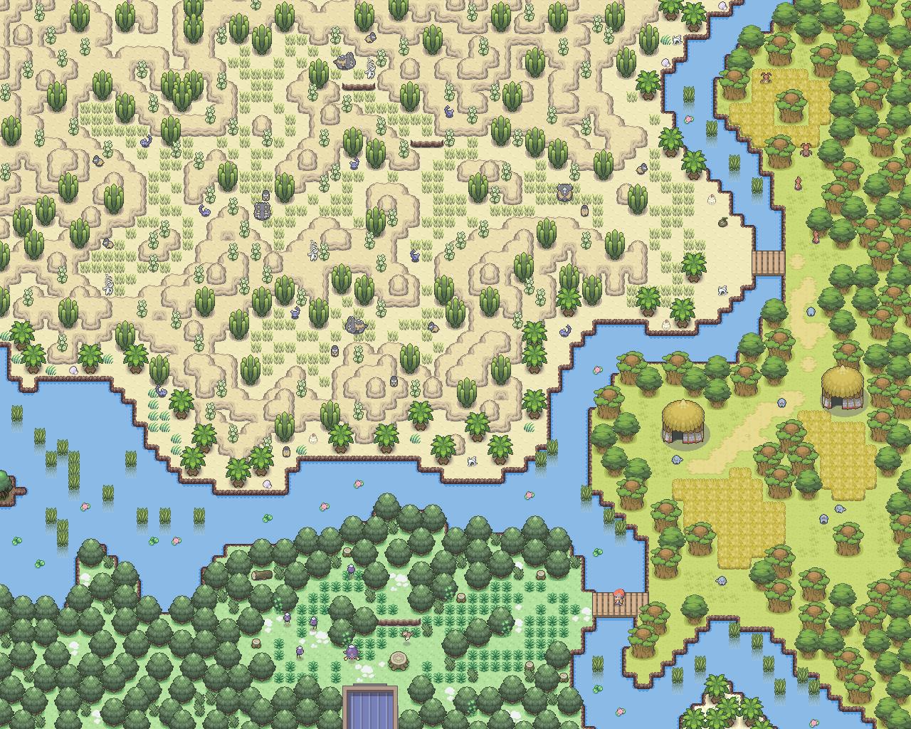 Pokémon-Map: Safari Zone