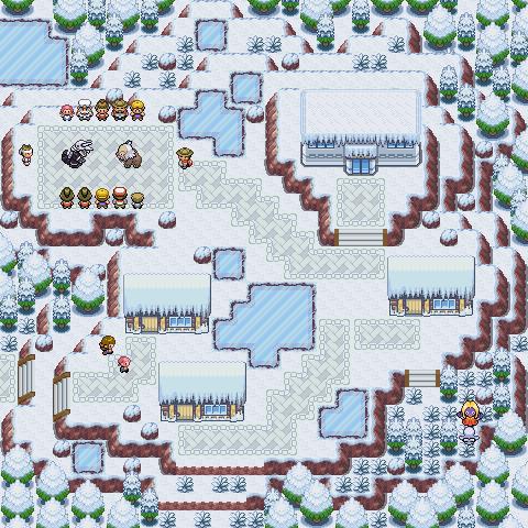 Pokémon-Map: Winterkampf