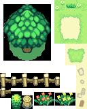 Pokémon-Tileset: Mystery Dungeon Außenwelt 1.0