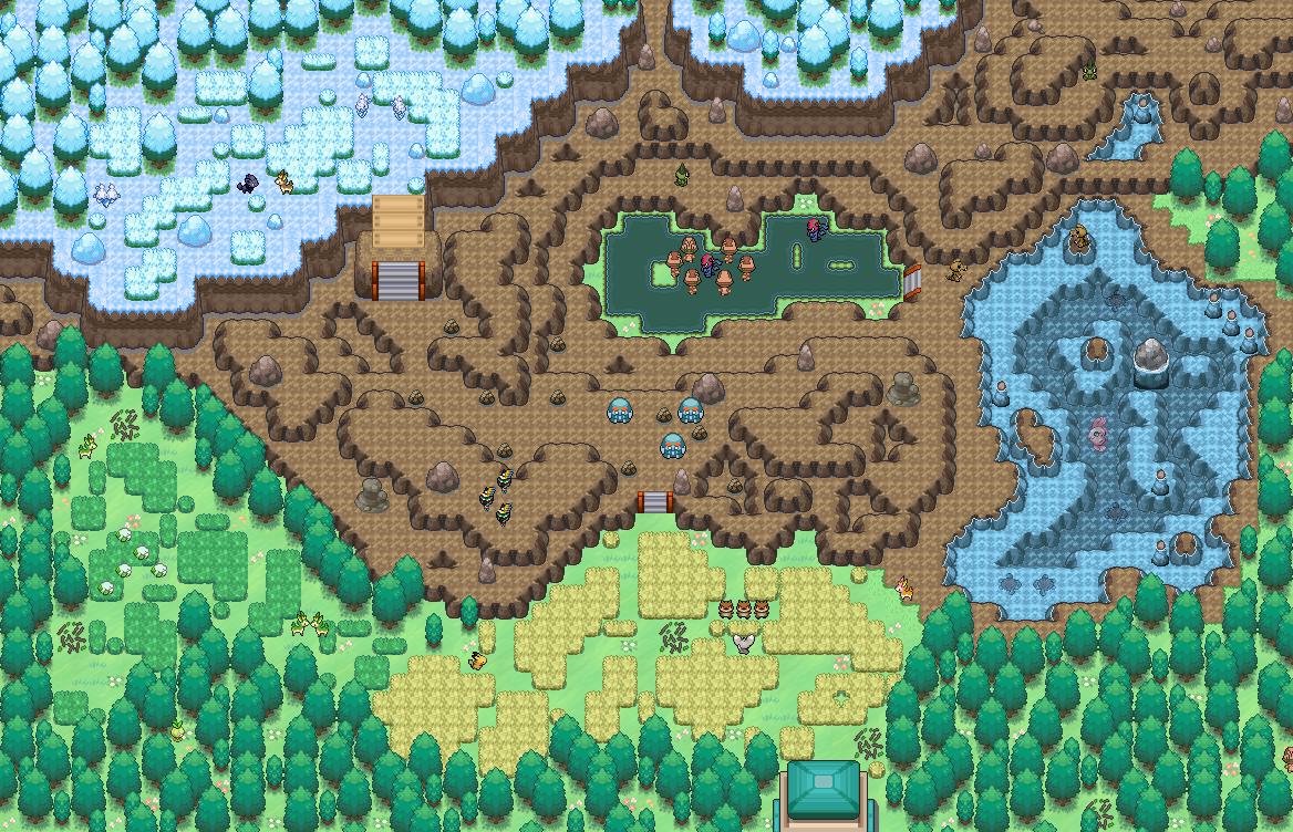 Pokémon-Map: Hafenstadt